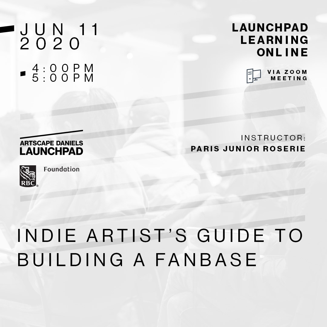 Indie Artist's Guide to Building A Fanbase