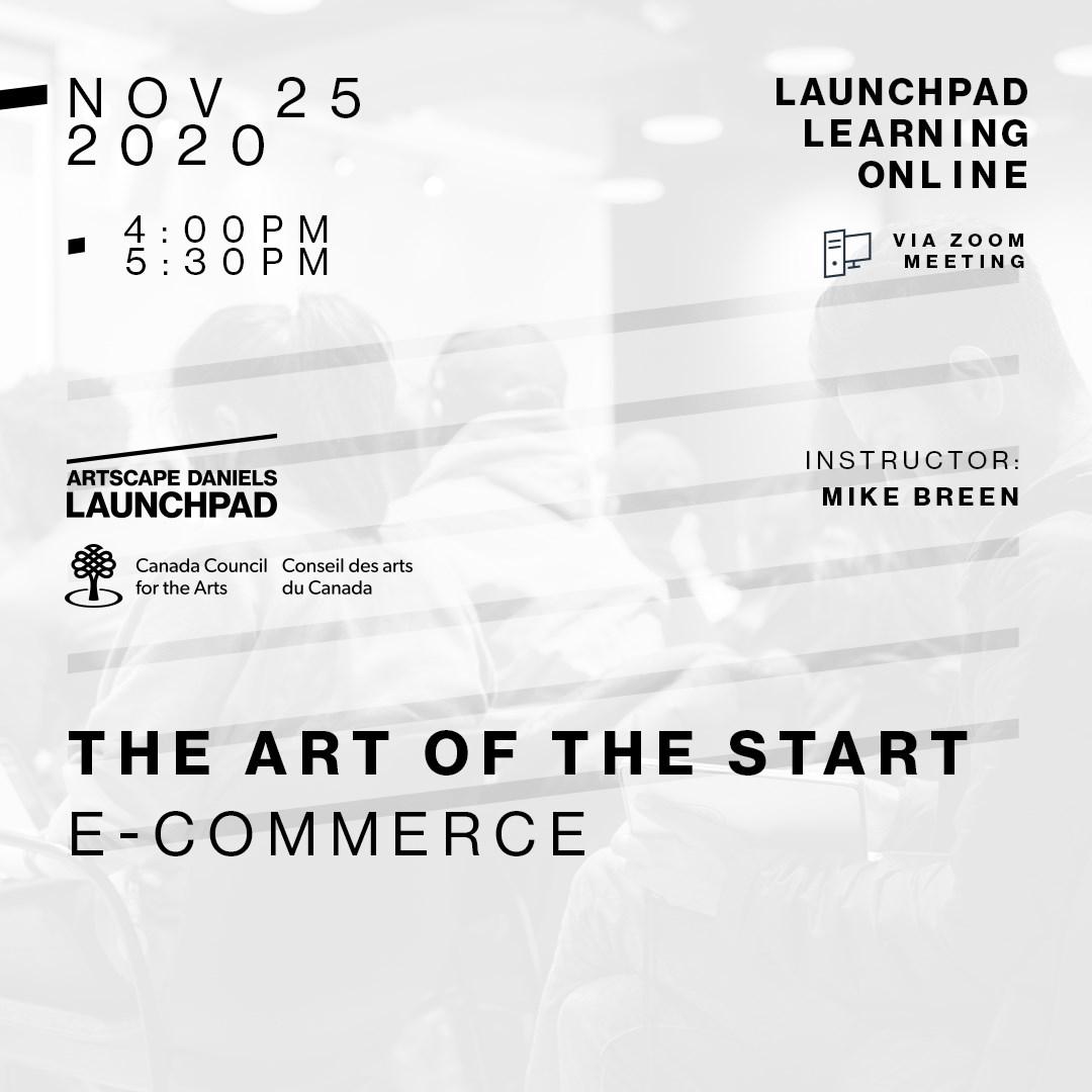 The Art of the Start - 3 - E-Commerce