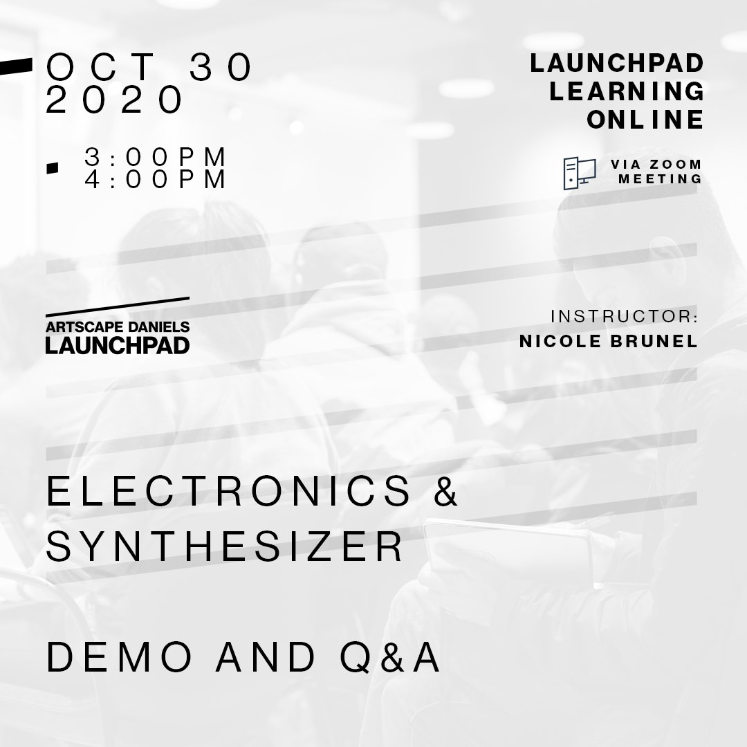 *CANCELLED* Electronics &  Synthesizer