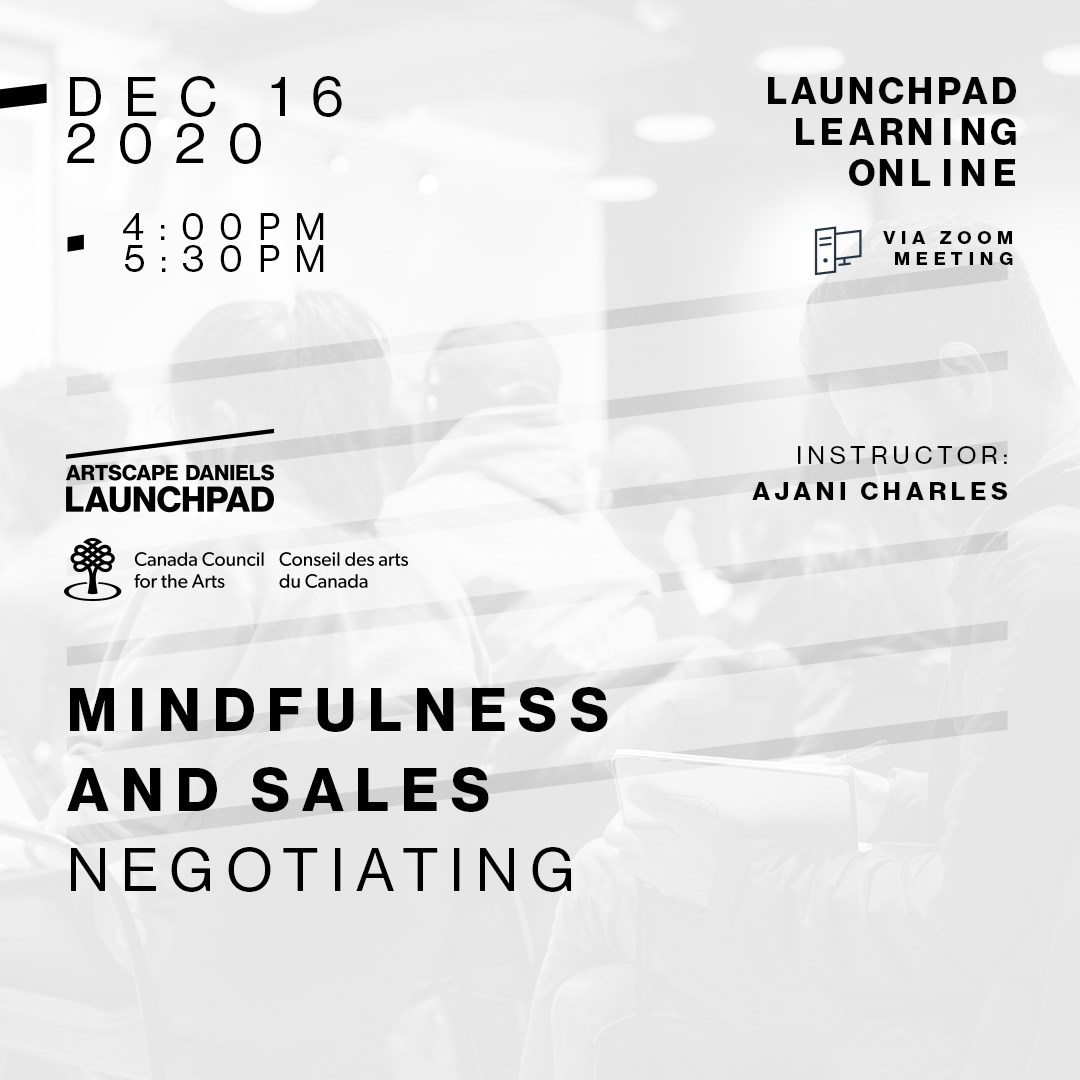 Mindfulness And Sales - 3 - Negotiating
