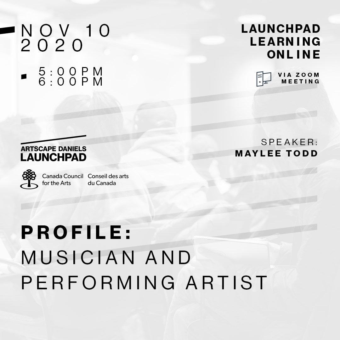 PROFILE: Musician and Performing Artist featuring Maylee Todd
