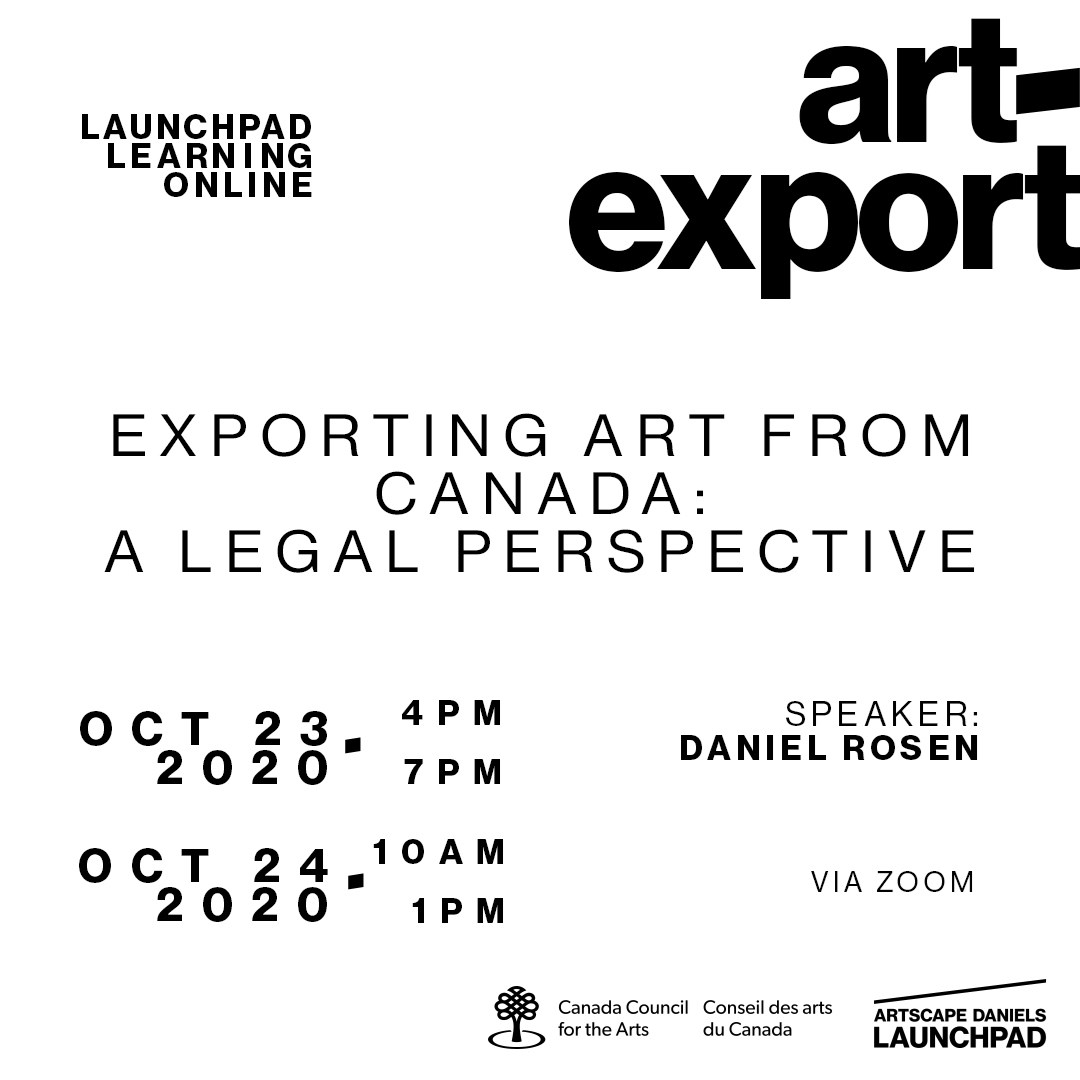 Exporting Art from Canada: a legal perspective