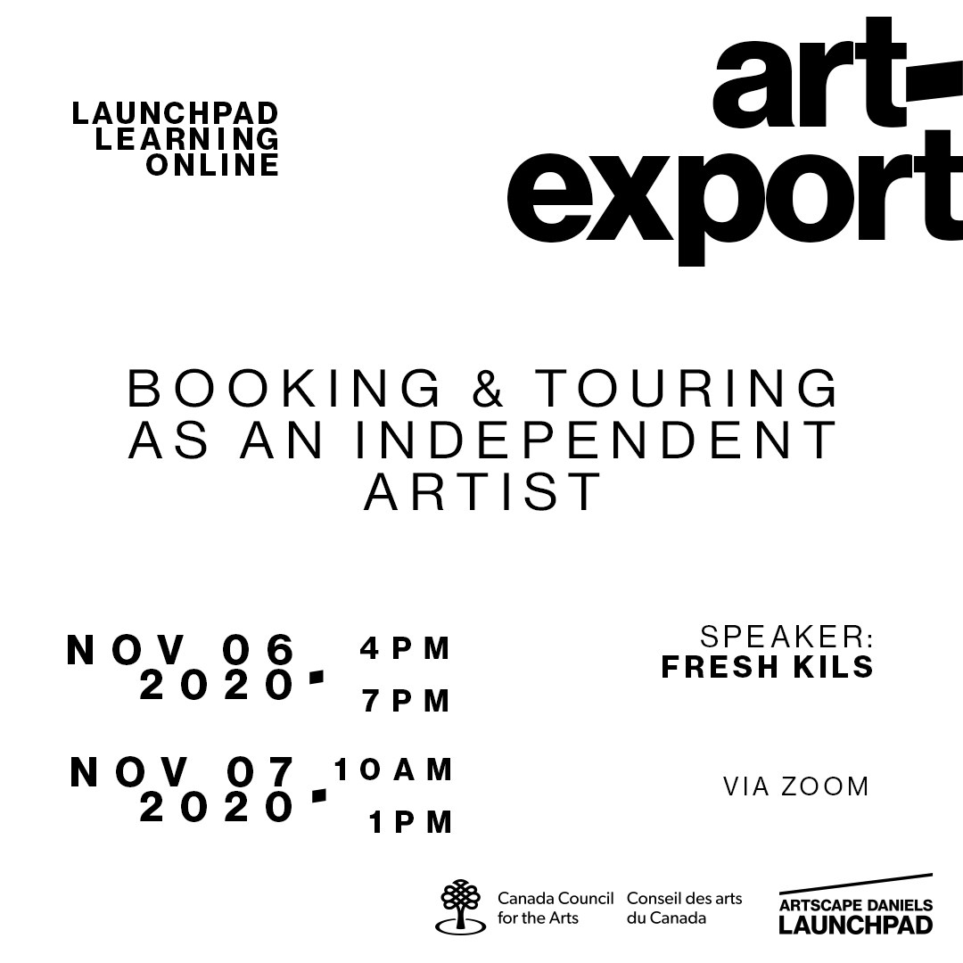 Booking & Touring as an Independent Artist