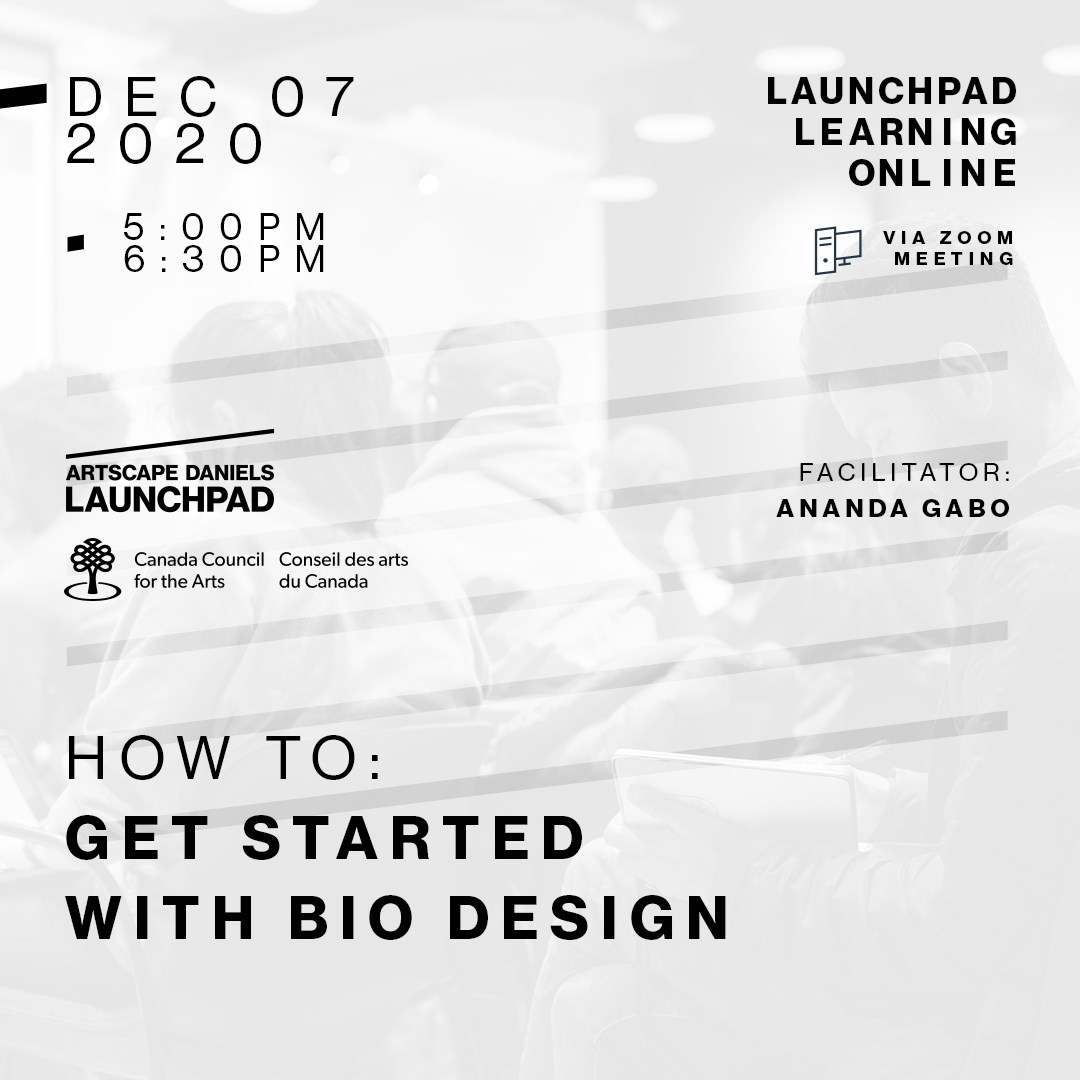 HOW TO: get started with Bio Design