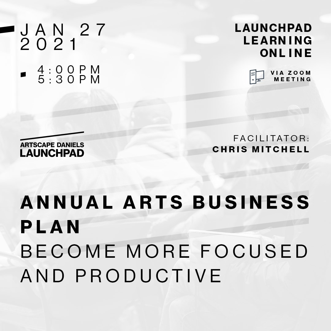ANNUAL ART BUSINESS PLAN: Become More Focused and Productive
