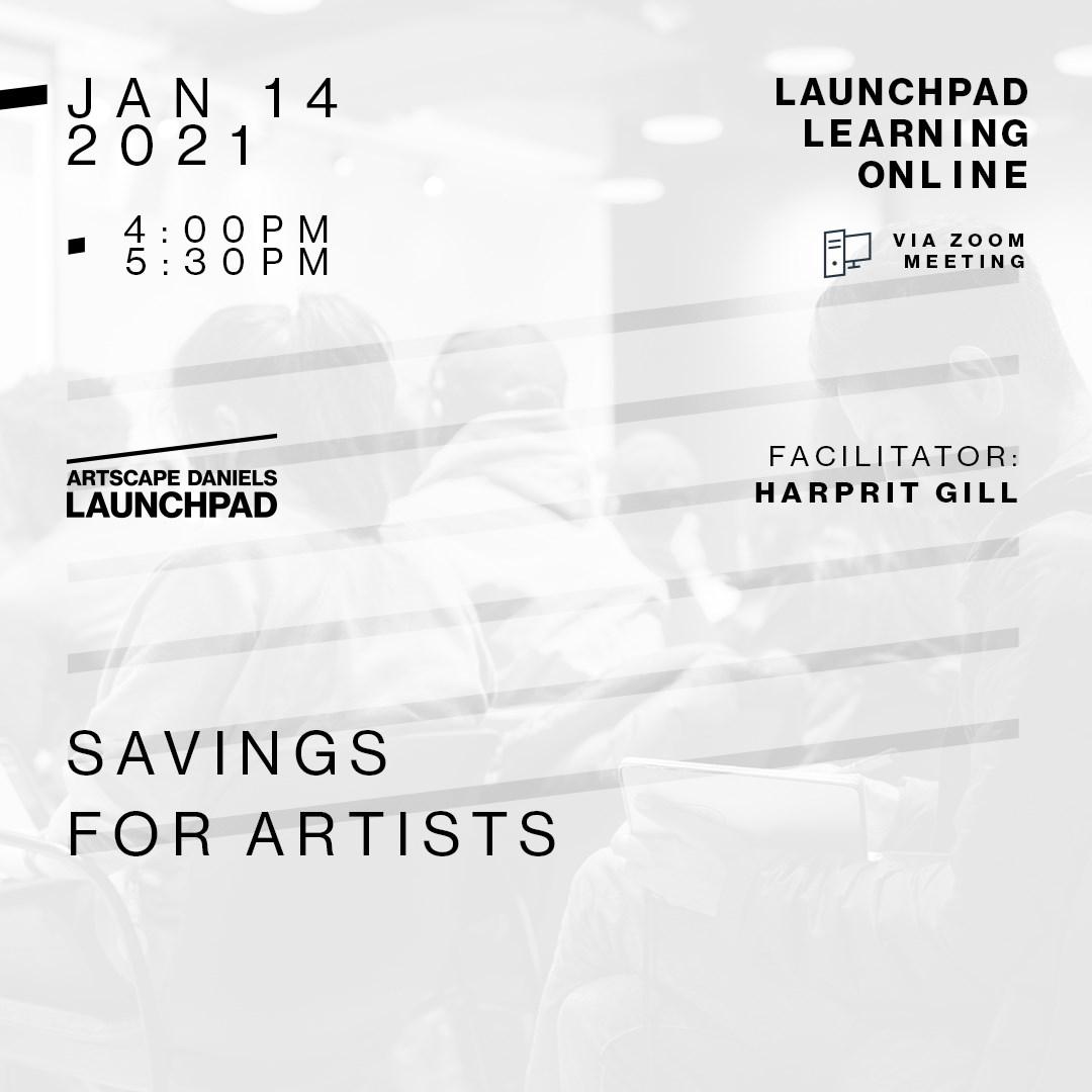 Savings for Artists