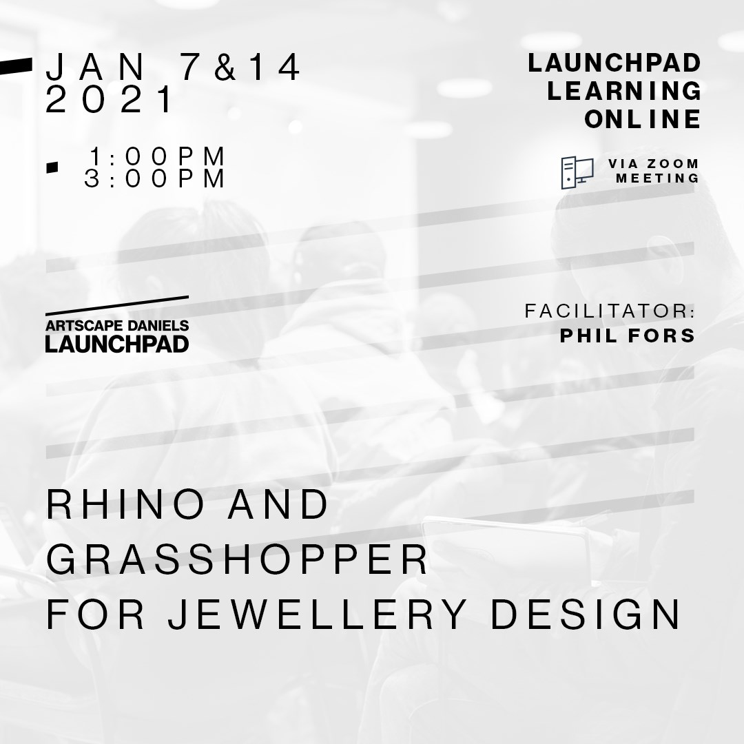 Rhino and Grasshopper for Jewellery Design - Part 2
