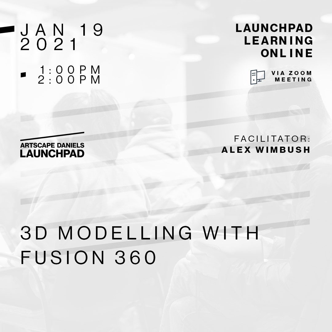 3D Modelling with Fusion 360 - Teaser