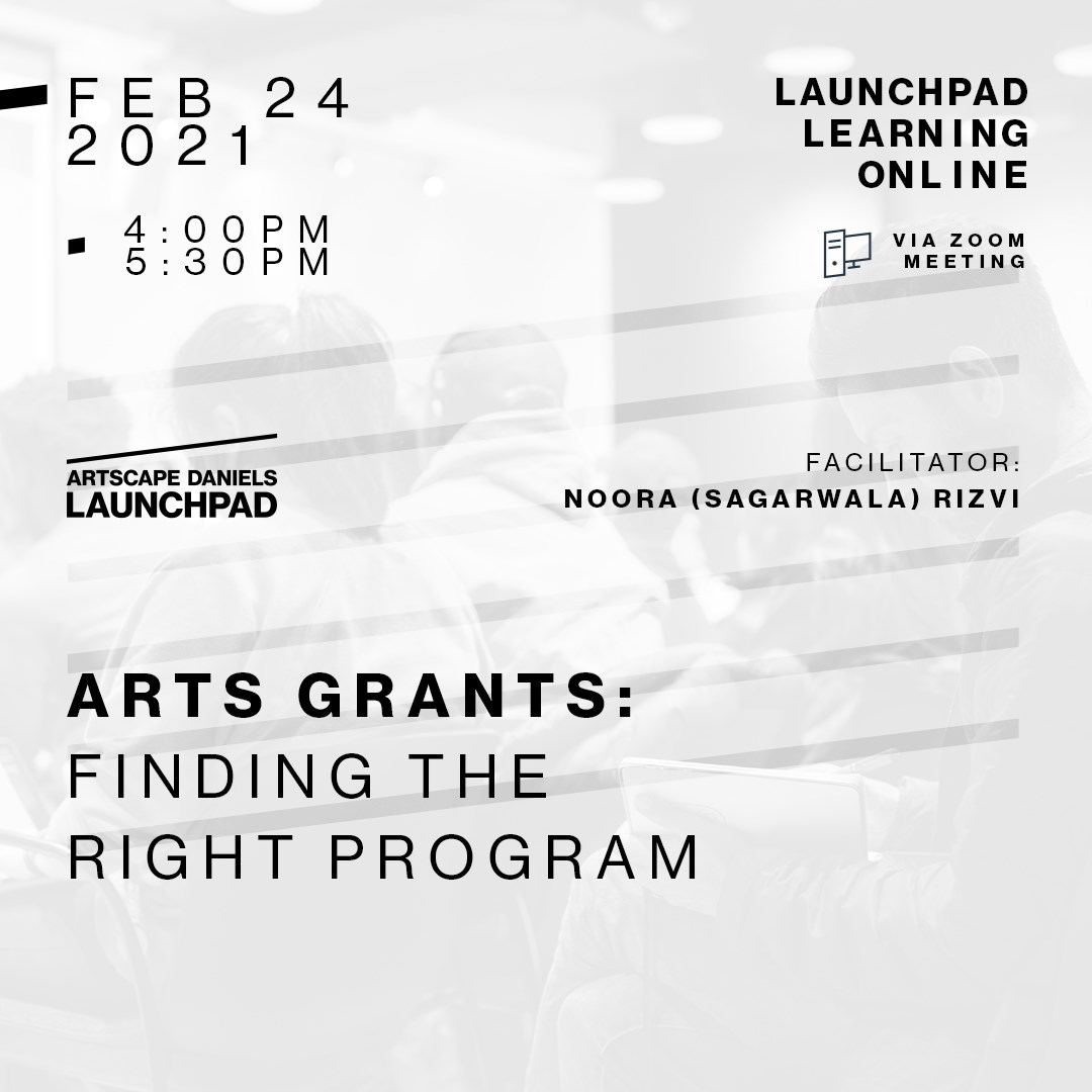 Arts Grants: Finding the Right Program