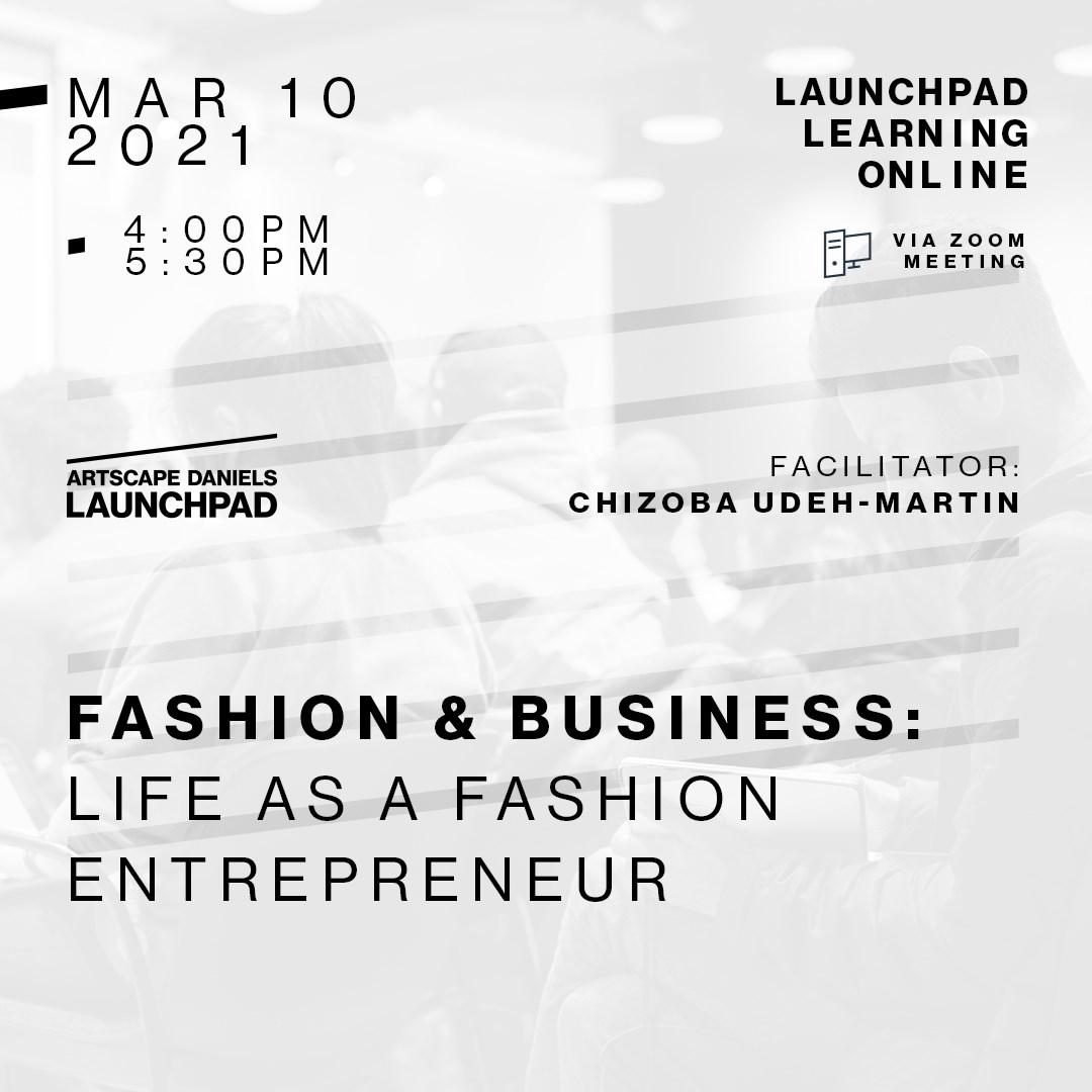 Fashion & Business: Life as a fashion entrepreneur