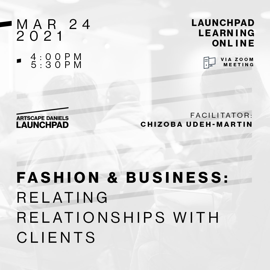 Fashion & Business: Relationships with clients