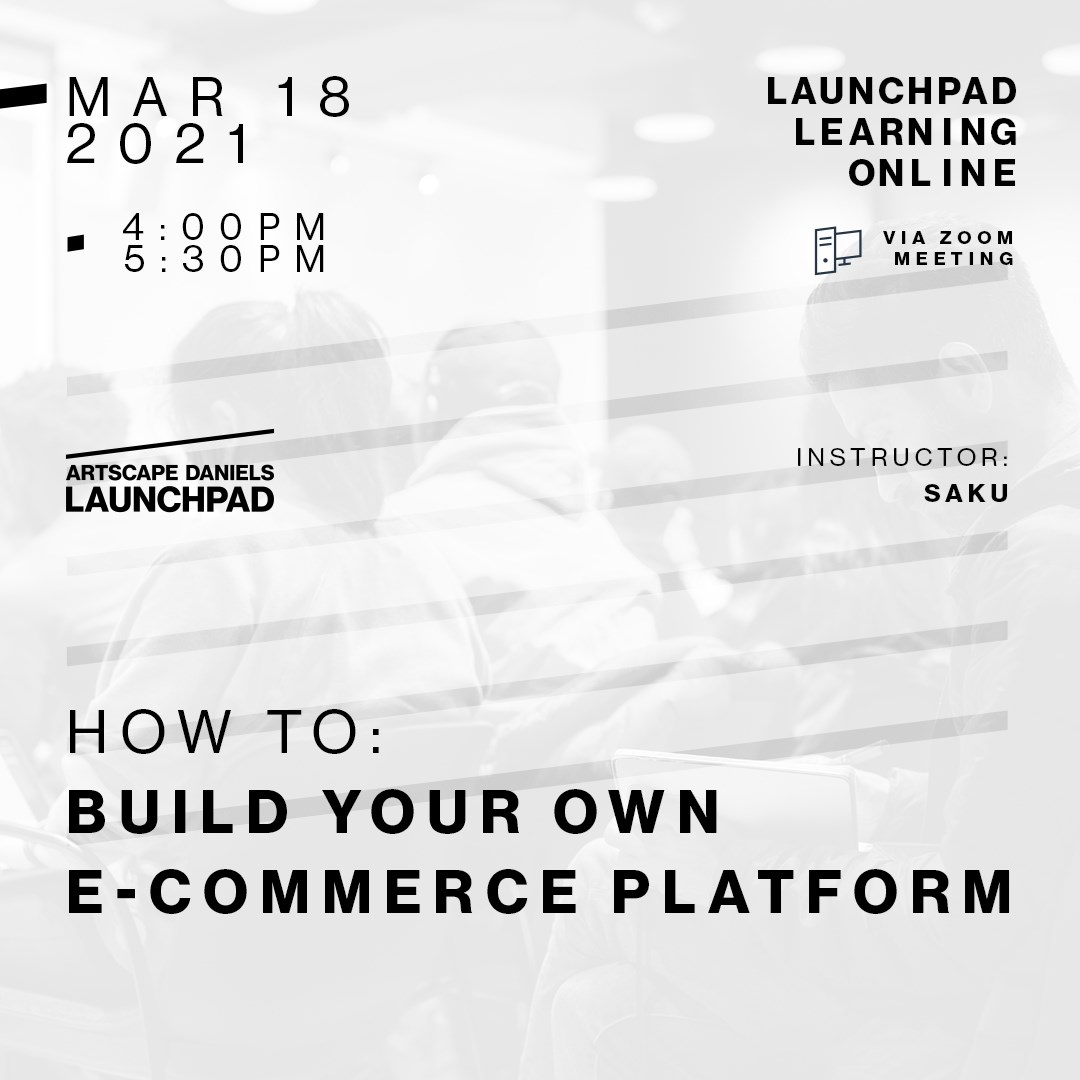 HOW TO: Build Your Own E-Commerce Platform