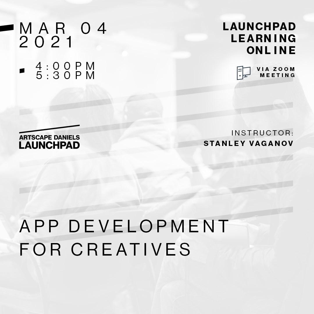 App development  for Creatives