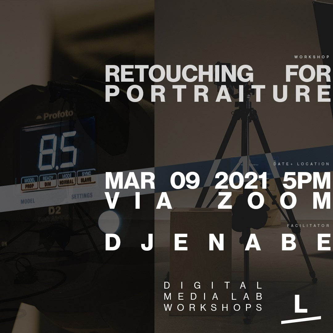 Retouching for Portraiture