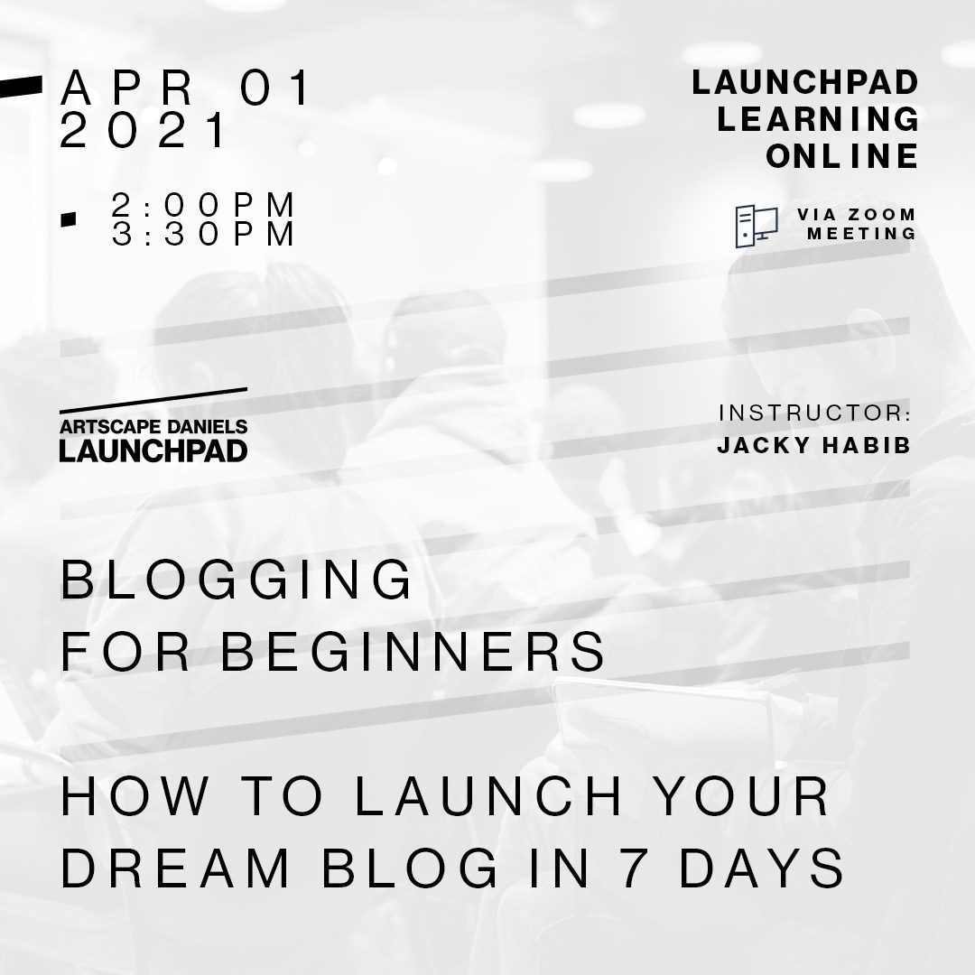 Blogging for Beginners: How to Launch your Dream Blog in 7 days