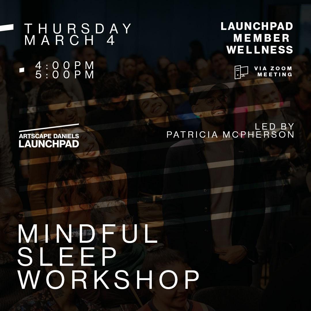Mindful Sleep Workshop With Patricia Mcpherson