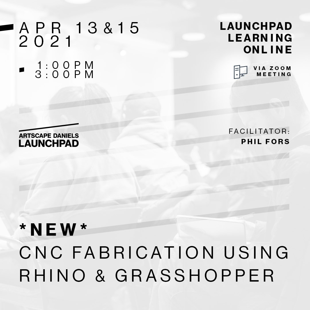 Woodworkers! CNC Fabrication using Rhino & Grasshopper - Part 1