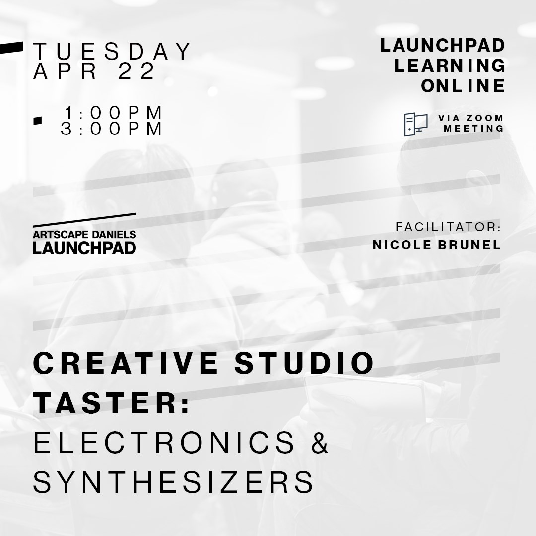 Creative Studio Taster! Electronics & Synthesizers