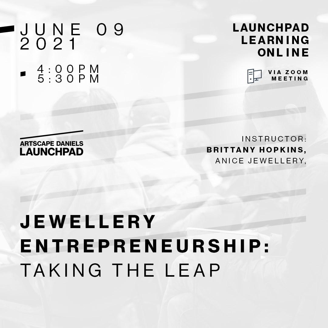 Jewelry Entrepreneurship - 1 - Taking The Leap