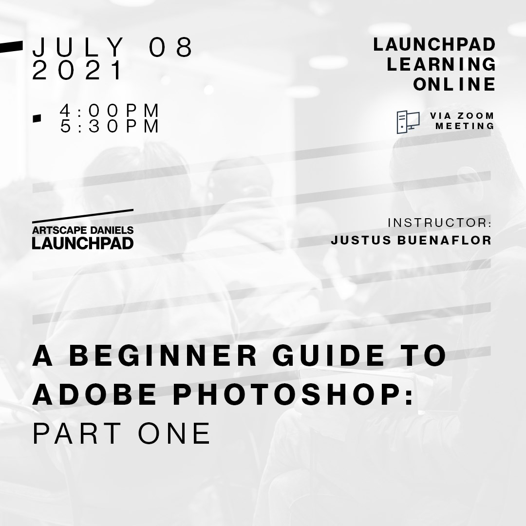 A beginner guide to Adobe Photoshop. Part one