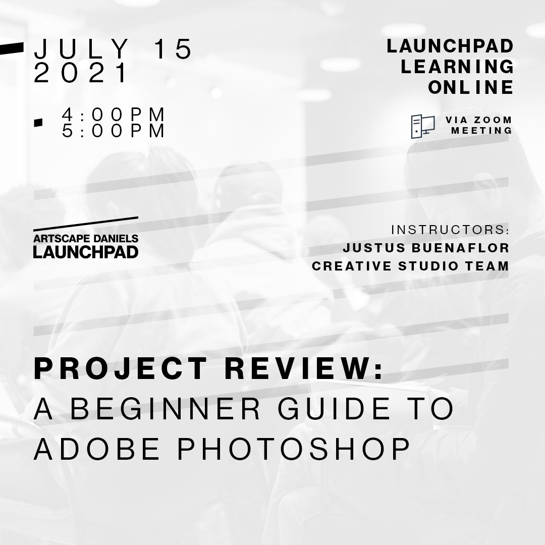 Project Review: A beginner guide to Adobe Photoshop