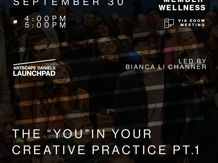 """The """"You"""" In Your Creative Practice PT.1"""