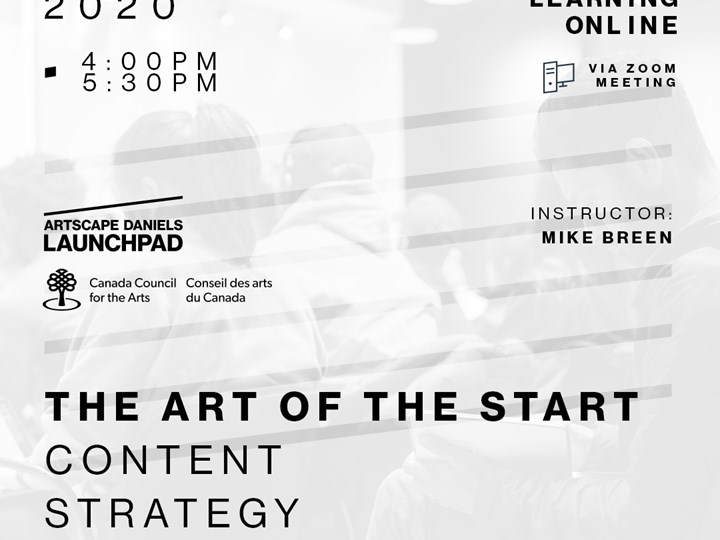 The Art of the Start - 2 - Content Strategy