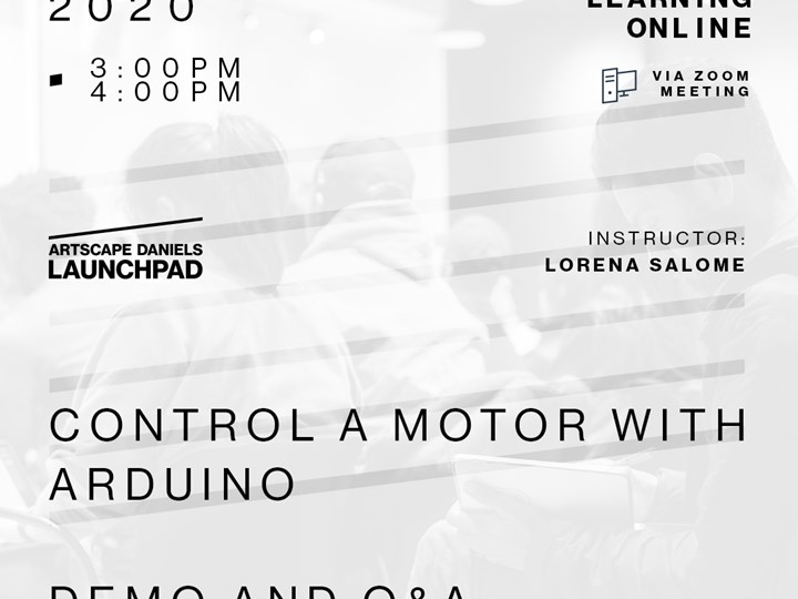 Control a motor with Arduino