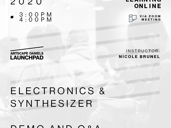 *CANCELLED* Electronics &  Synthesizer