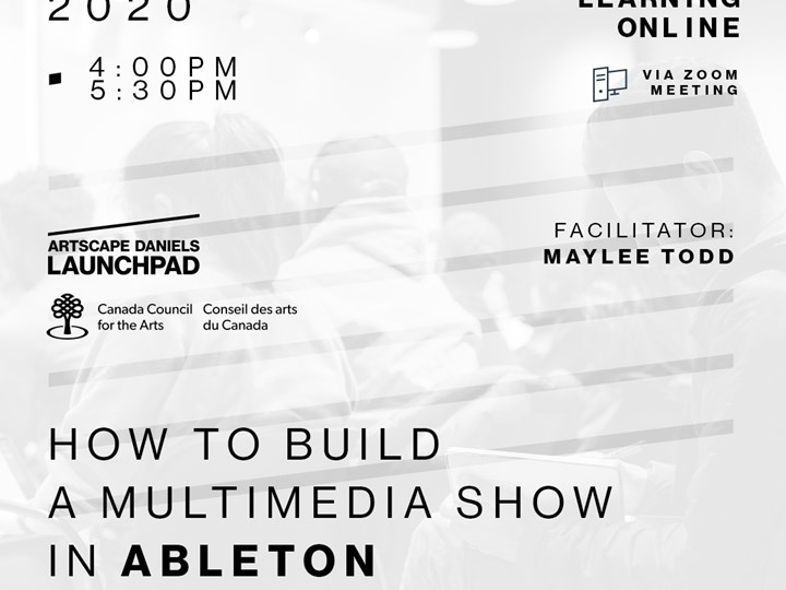 How to build a multimedia show in Ableton