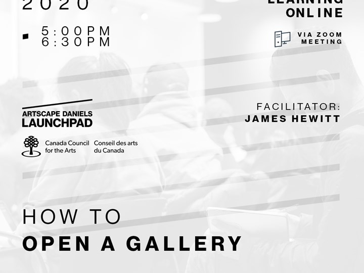HOW TO: open a gallery