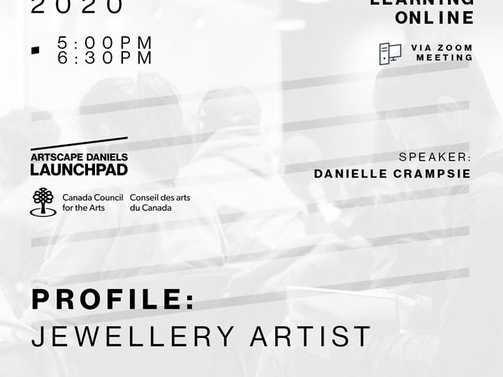 PROFILE: : Jewellery Artist featuring Danielle Crampsie