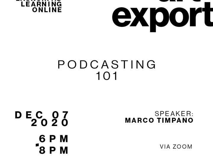 Podcast 101 - DESIGN AND ESSENTIALS