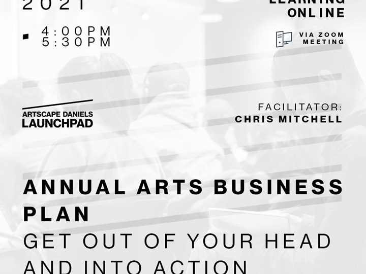 ANNUAL ART BUSINESS PLAN: Get Out of Your Head and into Action