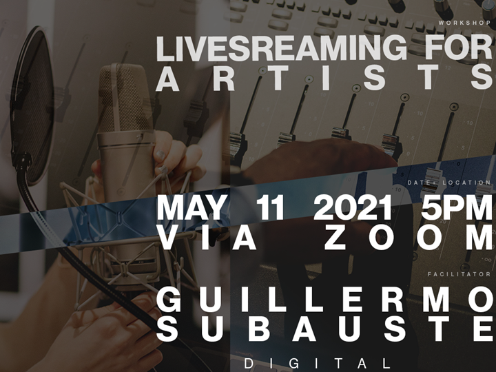 Livestreaming For Artists