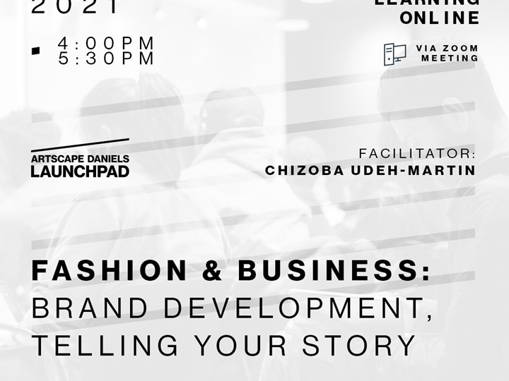 Fashion & Business: Brand Development, telling your story