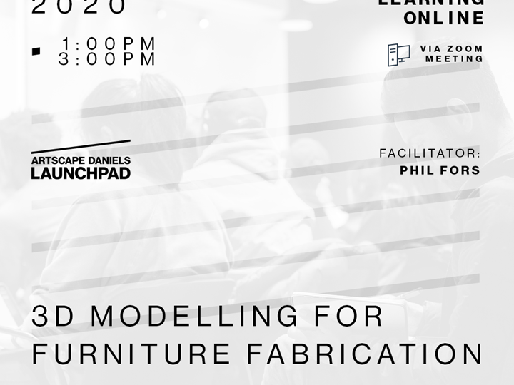 3D Modelling for Furniture Fabrication - Part 1