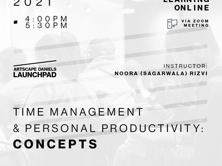 Time Management & Personal Productivity: Concepts