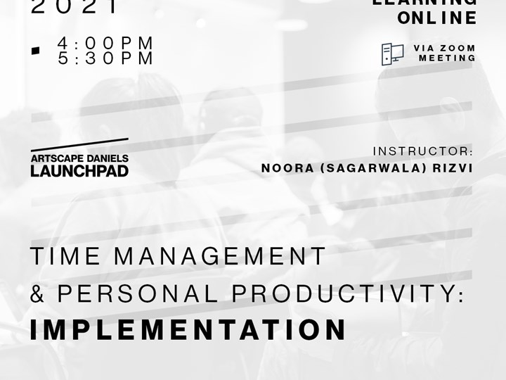 Time Management & Personal Productivity: Implementation