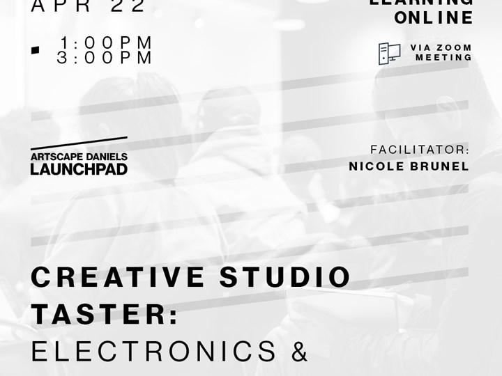 Creative Studio Taster! Electronics & Synthesizers
