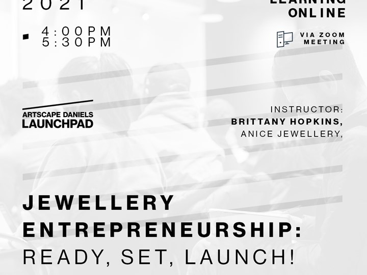 Jewellery Entrepreneurship - 3 - Ready, Set, LAUNCH!