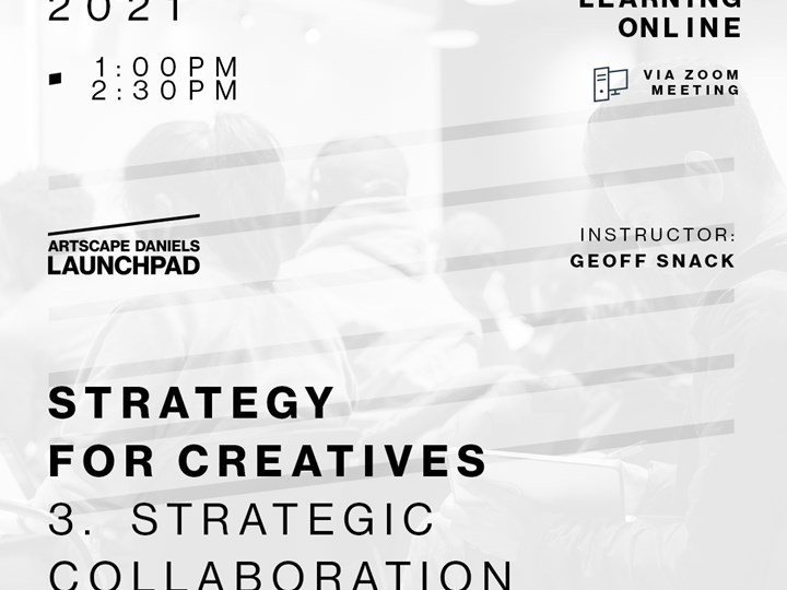 Strategy for Creatives - 3 - Strategic Collaboration