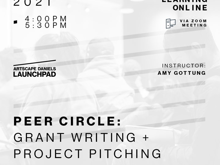 Peer Circle: grant writing + project pitching