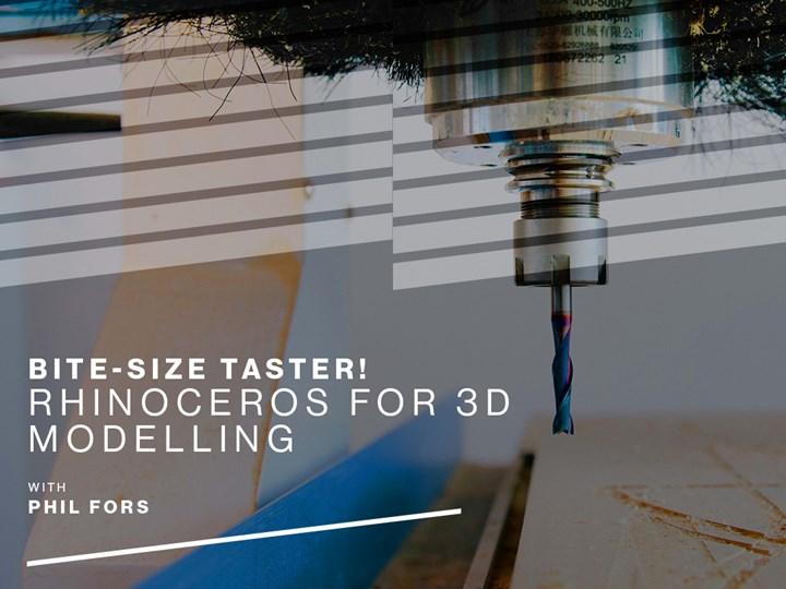 Bite-size Taster! Rhinoceros for 3D Modelling