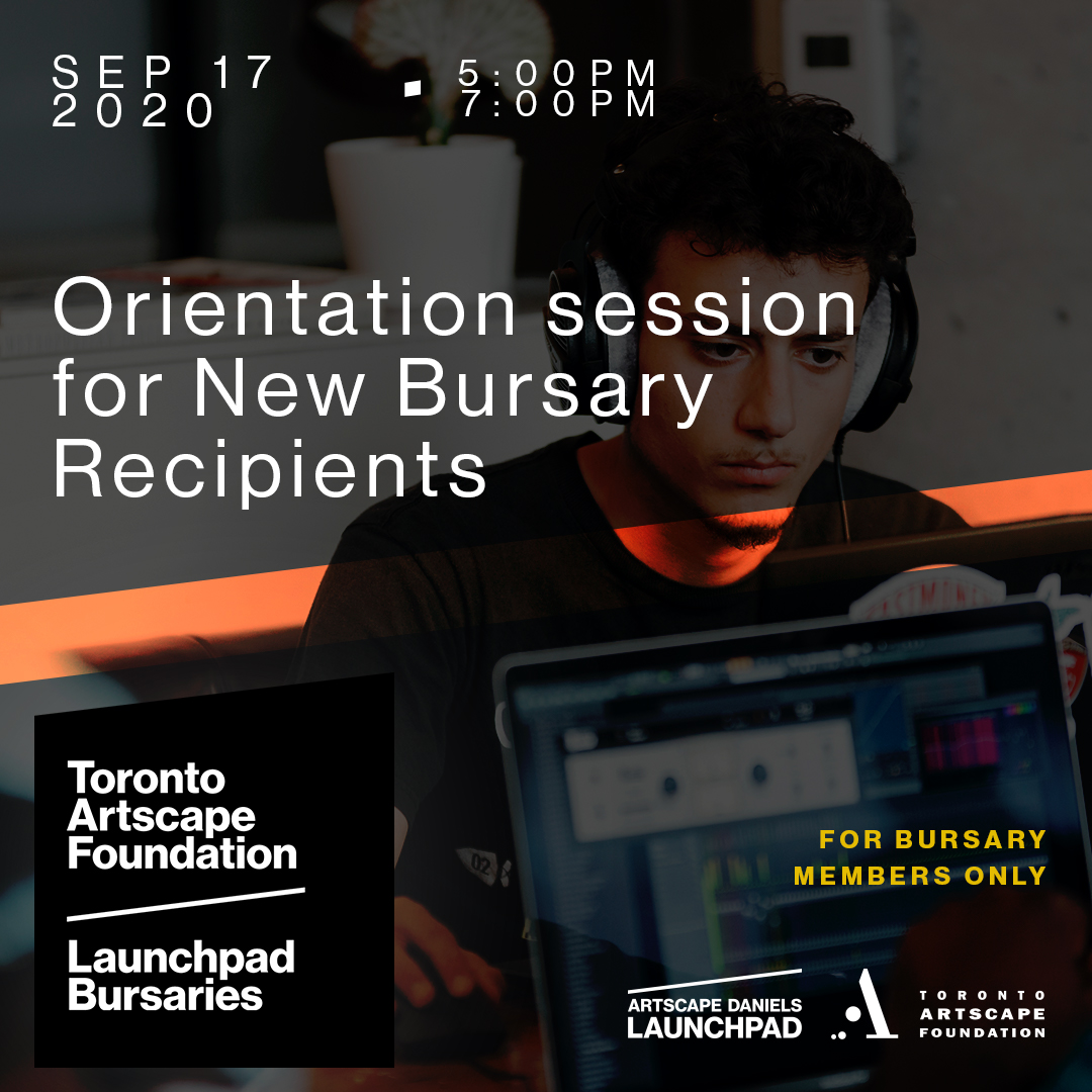 Orientation Sessions for new Bursary Recipients